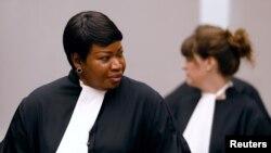 خانم بنسودا درخواست ۱۷ صفحهای خود را به محکمه بینالمللی جرایم تحویل داده است