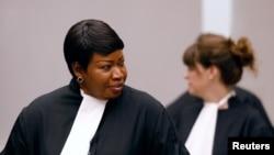 Jaksa Mahkamah Kejahatan Internasional (ICC), Fatou Bensouda, di Nederland, Belanda, 28 Agustus 2018. (Foto: dok).