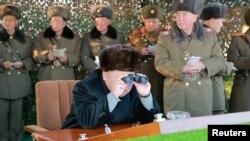 Kim Jong Un, uyobora Koreya ya ruguru