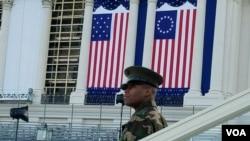 美国新总统就职典礼即将在国会山举行
