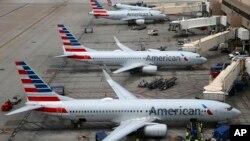 American Airlines, termasuk di antara maskapai AS yang menangguhkan layanan penerbangannya ke China karena kekhawatiran penyebaran virus corona (foto: ilustrasi).