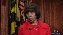 VOA Interview: Baltimore Mayor Catherine Pugh