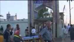 伊拉克清真寺和市場受到炸彈襲擊至少25人喪生