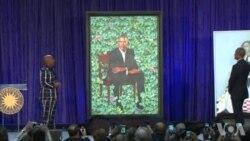 美国万花筒:奥巴马肖像揭晓 自嘲耳朵太大