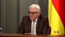 2014-11-19 美國之音視頻新聞: 普京與德國外長討論烏克蘭問題