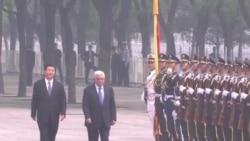 習近平會見巴勒斯坦領導人