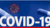 COVID-19 ANTIVIRAL PILL lettering, over pills and illustration of Coronavirus provided by US Centers for Disease Control and Prevention, finished graphic