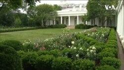 白宮玫瑰園改建完工 第一夫人主持開園儀式