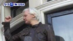 Manchetes Americanas 24 Maio 2019: Assange acusado sob lei de espionagem