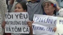 Truyền thông VN không đưa tin về các cuộc biểu tình vụ cá chết