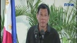 菲律賓總統否認自比希特勒