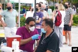 Vakcinacija u Miami Beachu, Florida, 4. august 2021.