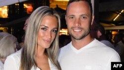 皮斯托瑞斯和他的女友在约翰内斯堡
