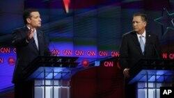 جان کی سیک فرماندار اوهایو و تد کروز سناتور تگزاس، داوطلبان نامزدی حزب جمهوریخواه