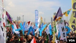 Alîgirên HDP'ê
