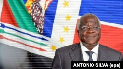 Afonso Dhlakama, líder da Renamo, principal partido da oposição em Moçambique