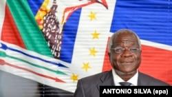 Afonso Dhlakama, líder da Renamo, principal partido da oposição em Moçambique.