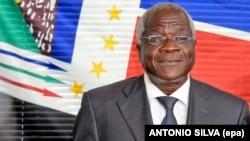 Afonso Dhlakama, presidente da Renamo