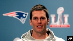 Mariscal de campo de Los Patriots, Tom Brady.