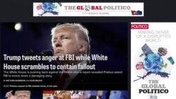 FBI y medios en la mira de Donald Trump