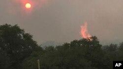 Vrućine i požari u Arizoni
