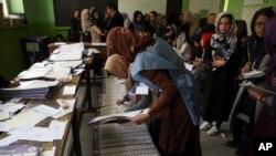 انتخابات پارلمانی افغانستان با ادعاهای گسترده تقلب روبرو بوده است