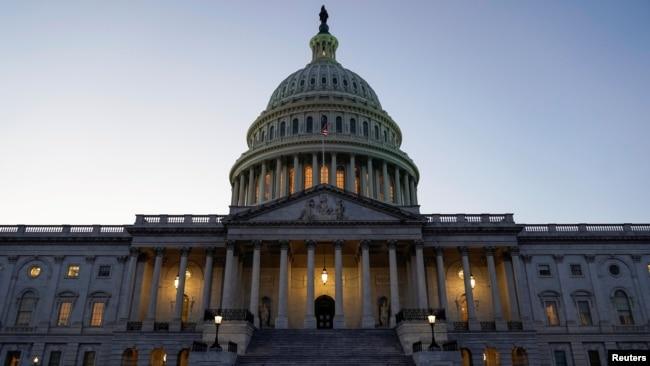 资料照:美国国会大厦主楼