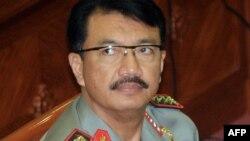 Wakil Kepala Kepolisian Republik Indonesia, Komjen Budi Gunawan, dalam sidang dengar pendapat di DPR, Januari 2015.