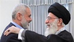 اسماعیل هنیه، نخست وزیر حماس در فوریه 2012 به تهران سفر کرده بود.