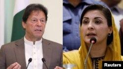 Imran Khan and Maryam Nawaz