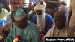 Amadou Djibo Ali, opposant nigérien, jeudi 17 mars 2016. (VOA/Bagassi Koura)