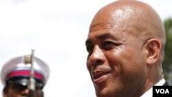 Prezidan Ayisyen an, Michel Martelly.