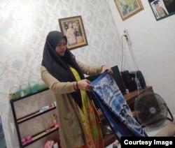 Salma Ramadayanti tinggal bersama kakak setelah ibu meninggal akibat COVID (foto: courtesy).