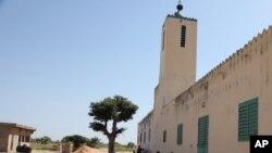 La mosquée utilisée par l'imam Alioune Badara Ndao, coordinateur présumé d'un groupe djihadiste, à Kaolack, Sénégal, le 20 novembre 2015.