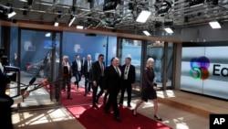 Ông Pompeo đến Brussels để gặp các người đồng nhiệm châu Âu