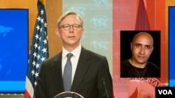 این مقام ارشد وزارت خارجه آمریکا به ستار بهشتی به عنوان یک قربانی رژیم ایران اشاره کرد.