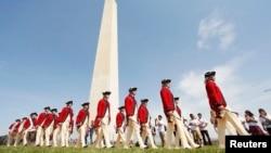 Ceremonija otvaranja Vašingtonovog spomenika u američkoj prestonici