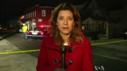 VOA's Carolyn Presutti reports from the scene of the Boston Manhunt for 'Suspect 2'