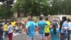 南非民眾悼念曼德拉