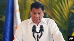 အာဆီယံထိပ္သီးေတြ ေတာင္တရုတ္အေရးေဆြေႏြးလို႔ အက်ိဳးမရွိဟု Duterte ေဝဖန္