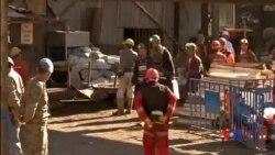 2014-05-16 美國之音視頻新聞: 土耳其發生礦難 仍有18人被困井下