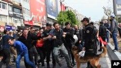 تظاهرات اول ماه مه در استانبول