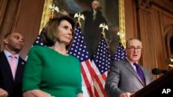 Konqres Demokratları - Nensi Pelosi və Çak Şumer