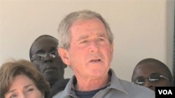 In Zambia, Bush Joins Fight Against Cervical Cancer