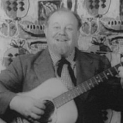 Burl Ives made music for adults and children