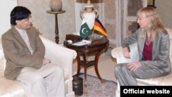 جرمن سفیر اور پاکستانی وزیرداخلہ کی ملاقات