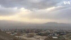 """تپه های قطعه """"اسکاد"""" در جنوب غرب كابل"""