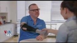 بخشی از برنامه VOA Tek |یک دست مصنوعی که زنده است