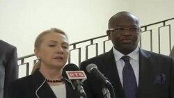 Vidéo de la 1ère journée de Mme Clinton en Afrique