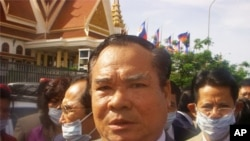 Ho Vann is an SRP senator for Phnom Penh.